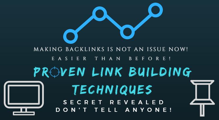 Proven Link Building Techniques