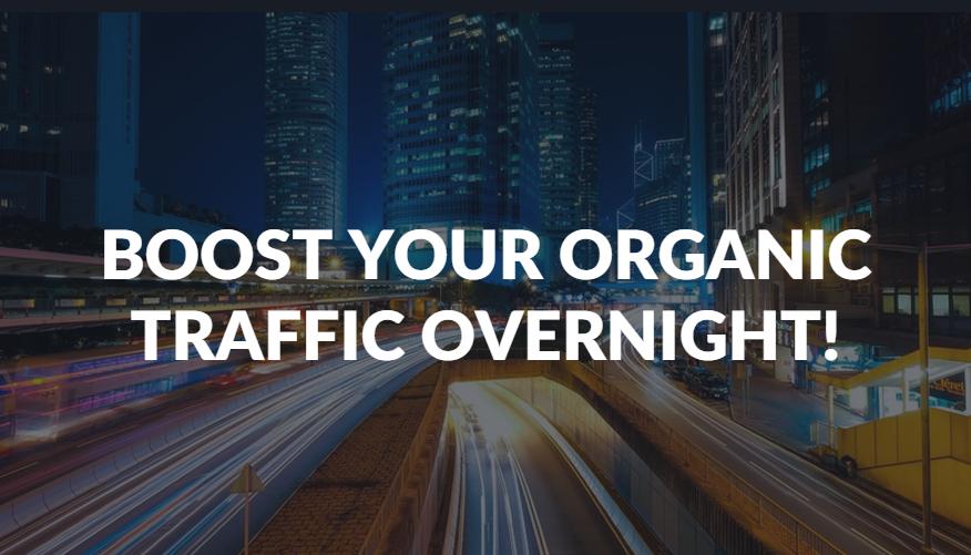 Boost Organic Traffic